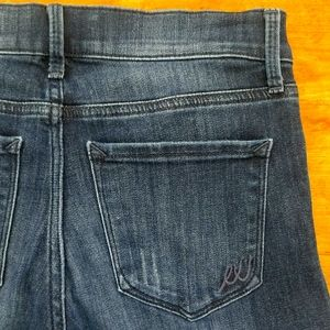 Wide Leg Flare Mid rise jeans size 4R